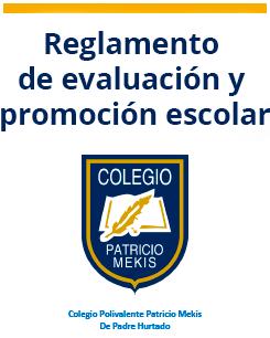 Reglamento de Evaluación y Promoción