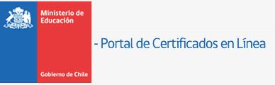 Portal Certificados en Línea